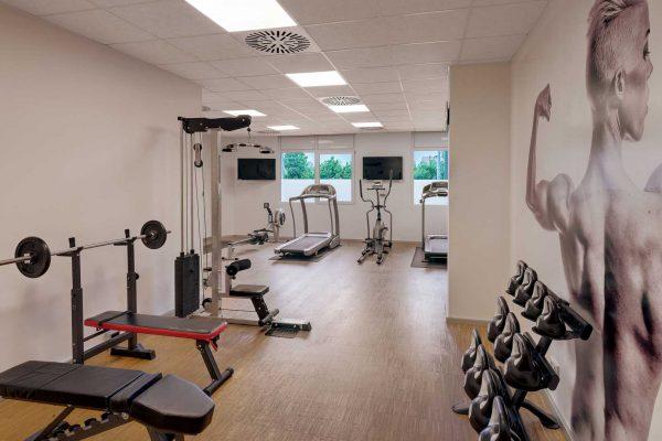Hotel Newton Heilbronn Fitnessraum