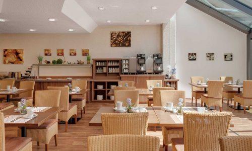 Hotel Newton Heilbronn Frühstücksraum