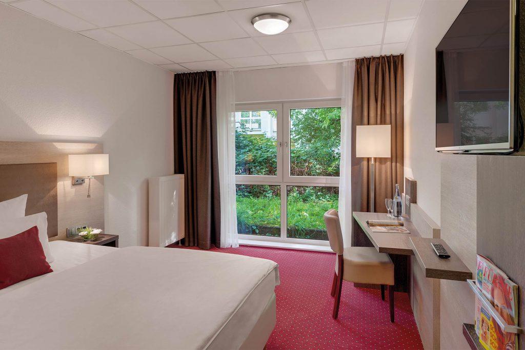 Hotel Newton Karlsruhe Einzelzimmer Erdgeschoss