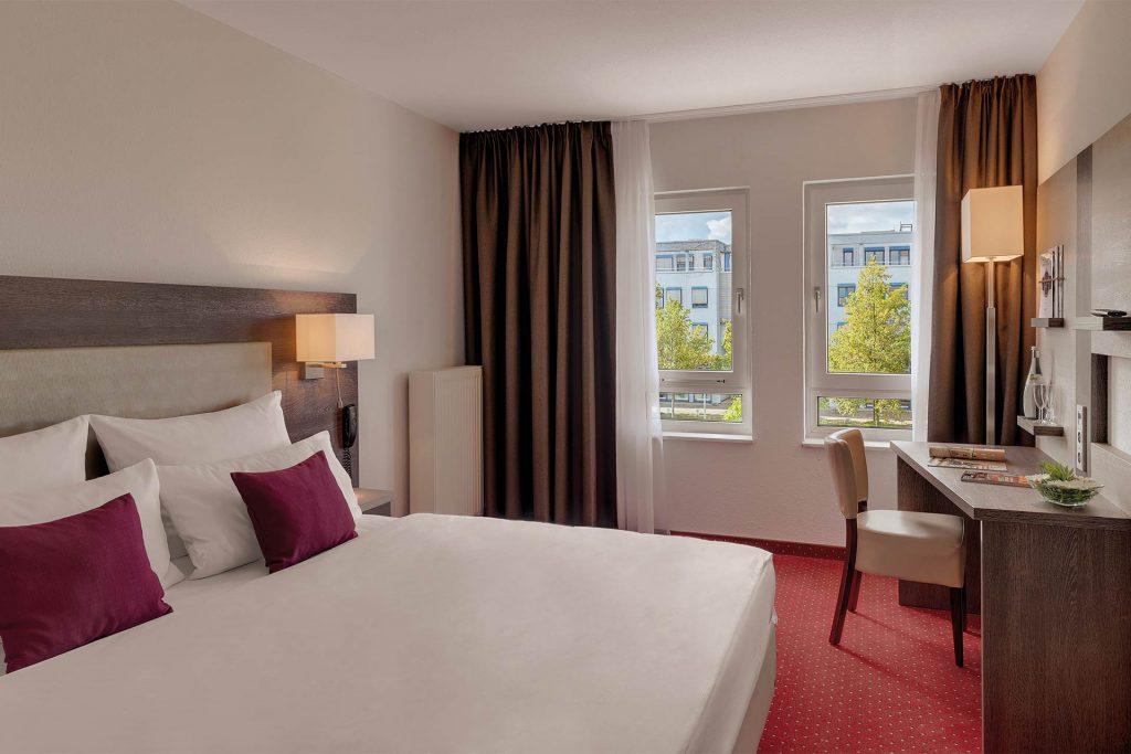 Hotel Newton Karlsruhe Doppelzimmer Kingsize